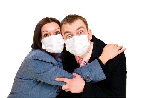 Россия встретила 2016 год свиным гриппом!